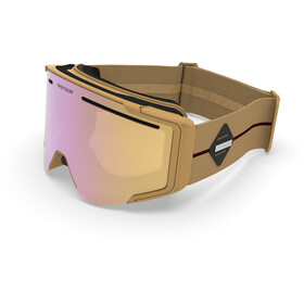 Spektrum Östra Premium Lunettes De Protection, honey gold